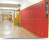 Janitorial services for educational facilities